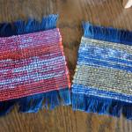 さくら織りでコースターを作ろう!